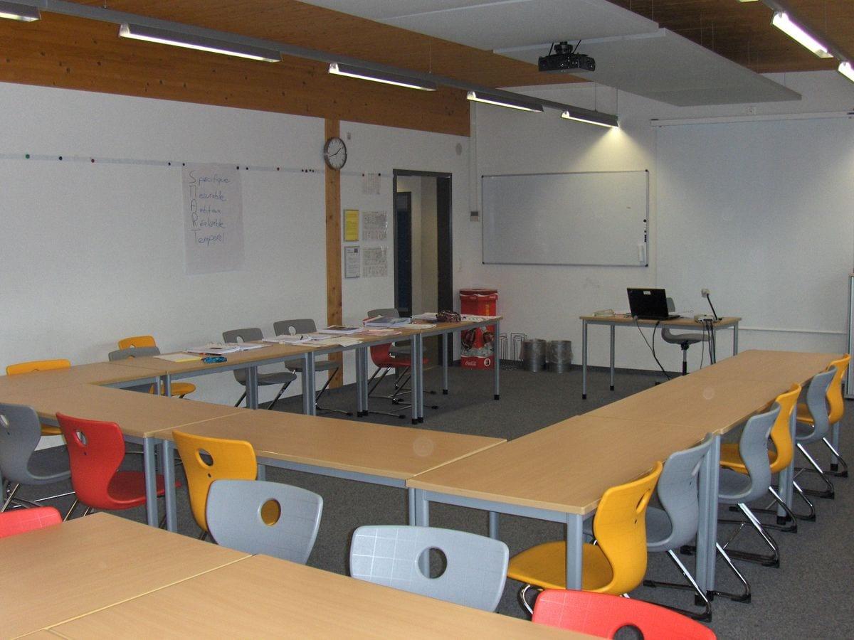 Yverdon - Salle de cours - disposition classe
