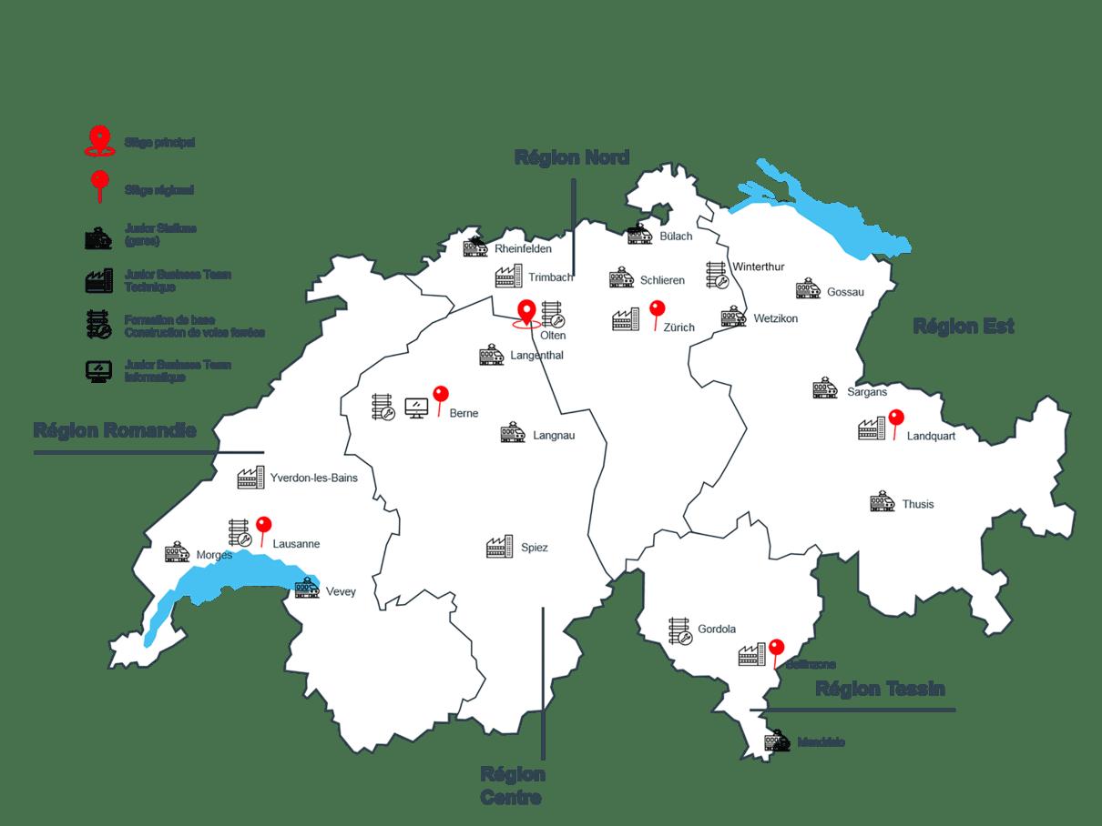 Nos régions / formation de base