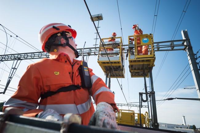 Netzelektriker EFZ Fahrleitung