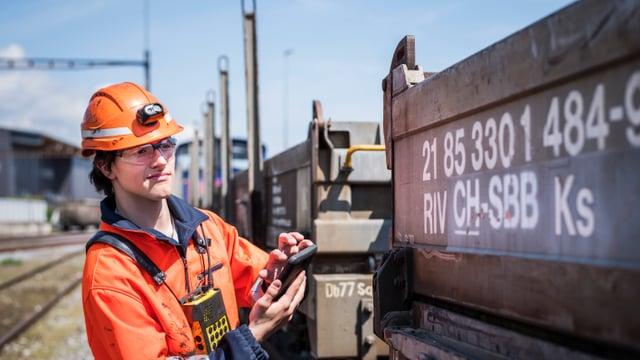Logistiker EFZ Fachrichtung Verkehr