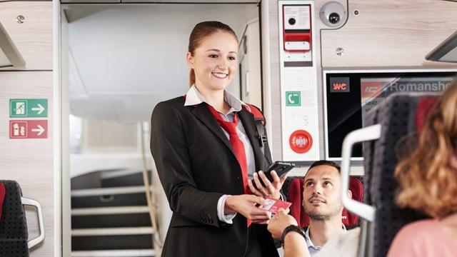 Fachfrau und Fachmann öffentlicher Verkehr EFZ Zugbegleitung
