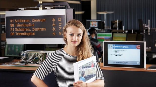 Fachfrau und Fachmann öffentlicher Verkehr EFZ Planung